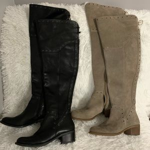 Vince Camuto Bestan over the knee boots (2 colors)